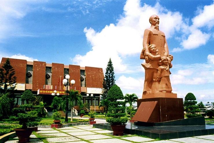 Khung cảnh bên trong trường Dục Thanh Phan Thiết