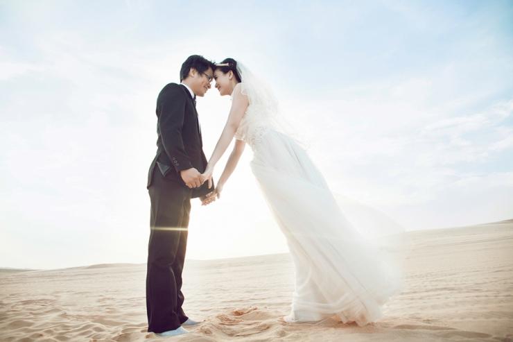 Chụp ảnh cưới tại Mũi Né