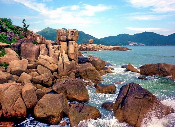 Cảnh biển Nha Trang