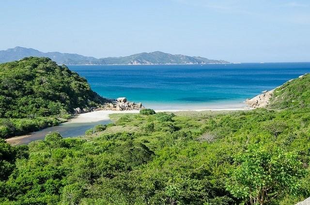 Thiên nhiên đảo Bình Ba