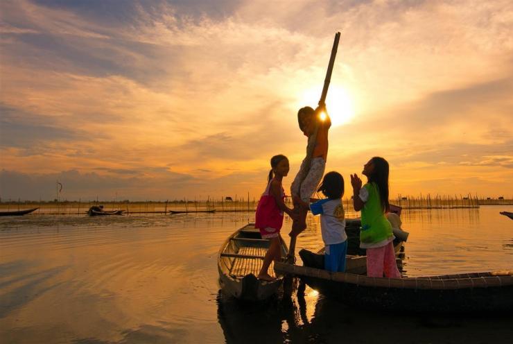 Phá Tam Giang cảnh đẹp du lịch Huế