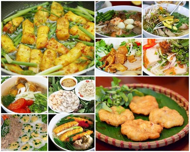 Món ăn ngon khi du lịch lễ 30 tháng 4