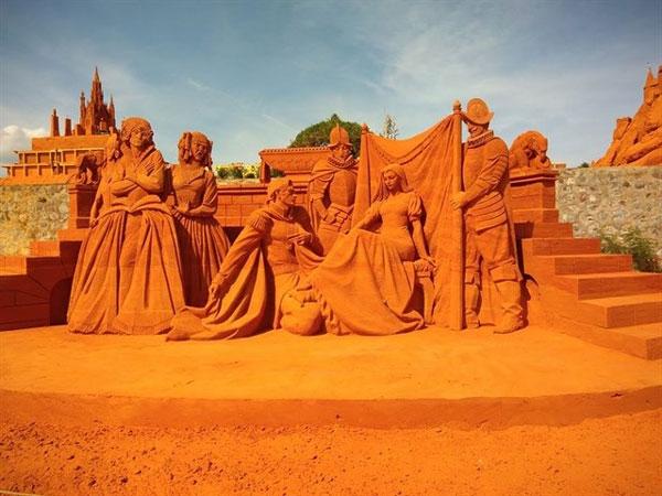 Công viên tượng cát Forgotten Land - Phan Thiết