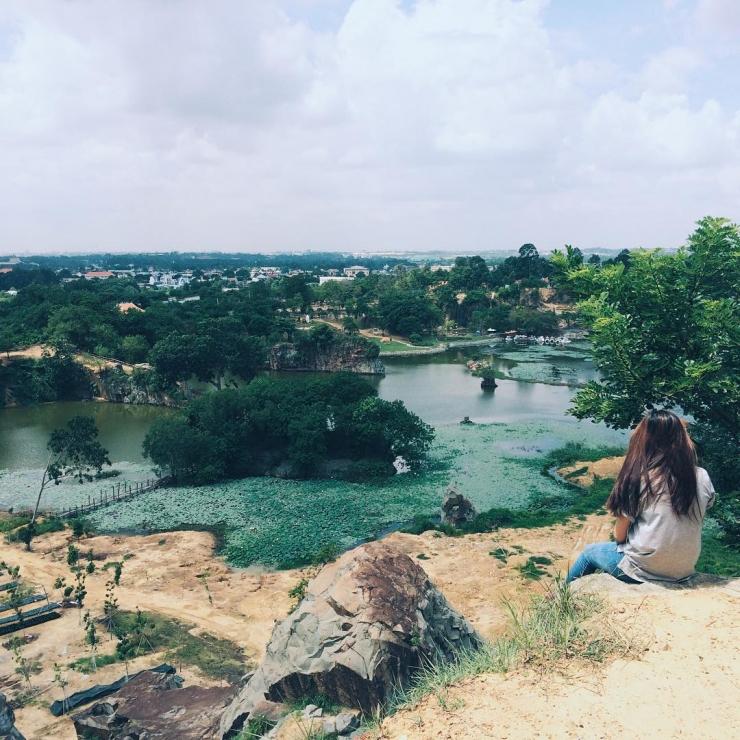phong cảnh khu du lịch bữu long