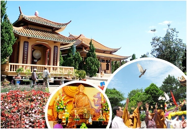 Tour du lịch hành hương Đà Lạt 3N3Đ: Vu Lan Báo Hiếu