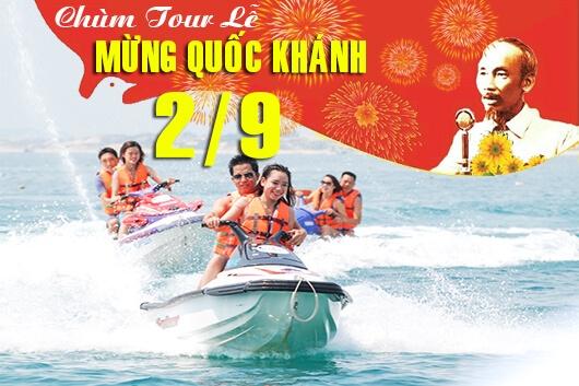 Tour du lịch Nha Trang 3 ngày 3 đêm lễ Quốc Khánh 2/9/2017