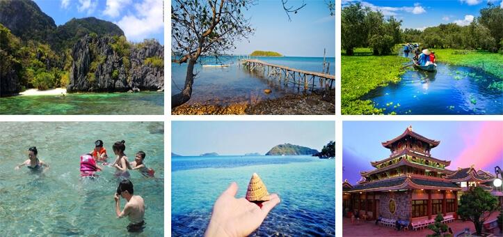 Tour du lịch miền Tây 2N2Đ: Quần đảo Bà Lụa – rừng tràm Trà Sư