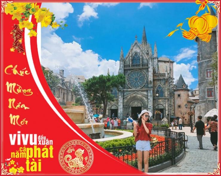 Tour du lịch Đà Nẵng 3N2Đ: Tết Nguyên Đán 2018