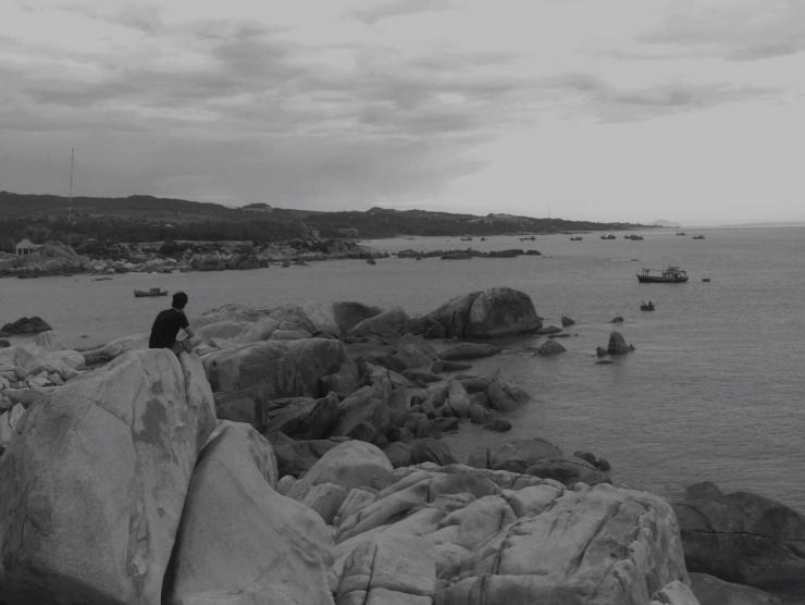 Giữa biển trời, lòng thanh bình đến lạ. Ảnh @lifeofpi73