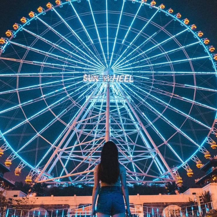 Vòng quay Sun Wheel Đà Nẵng trong top 10 vòng quay lớn nhất thế giới