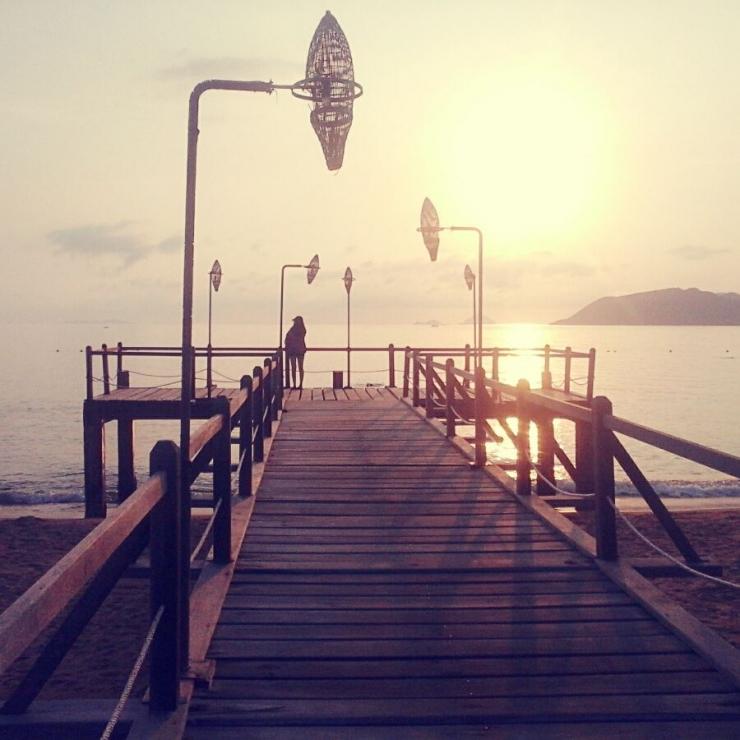 Một góc nhỏ của biển Nha Trang