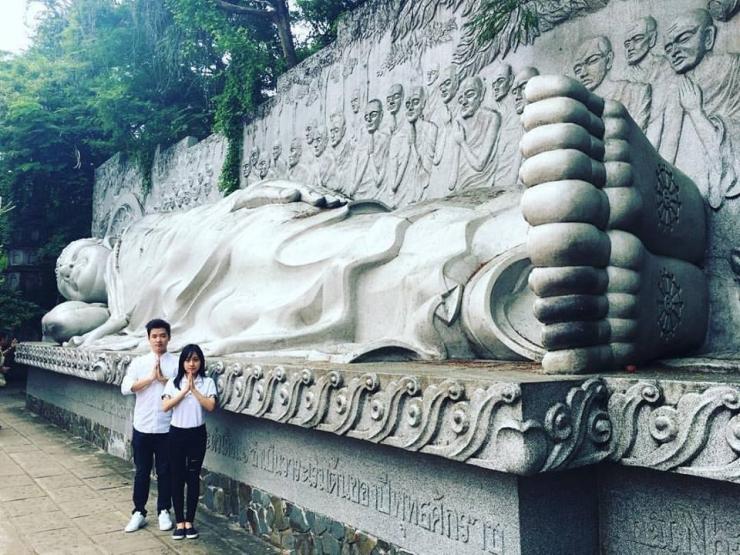 Checkin tại chùa Long Sơn Nha Trang