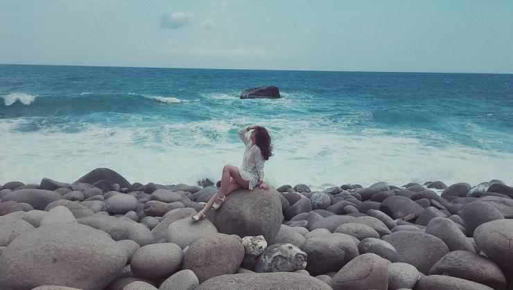 Một góc của đảo Bình Hưng