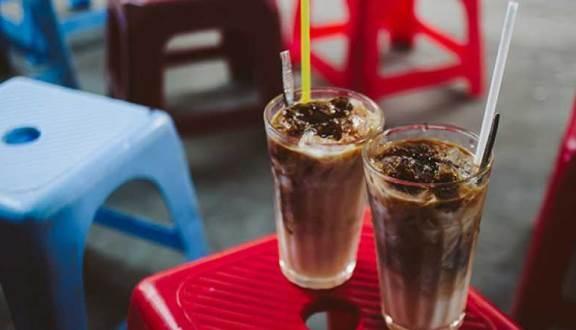 Đây là sữa cà phê được pha từ sữa tươi với vị cafe