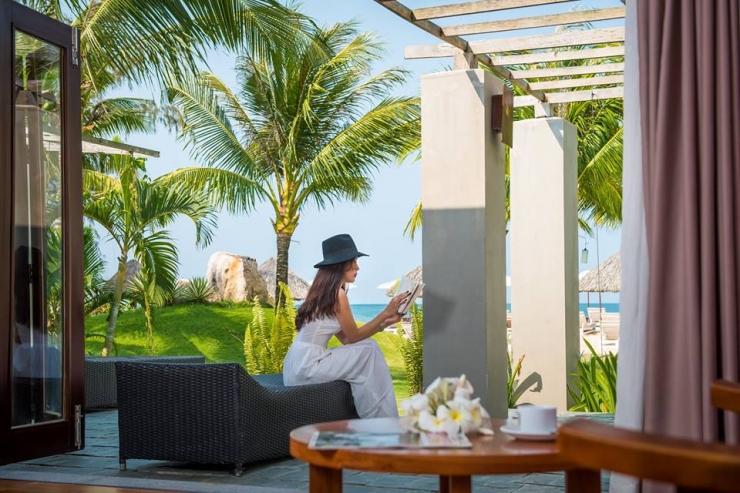 Một góc không gian ở Eden Resort Phú Quốc