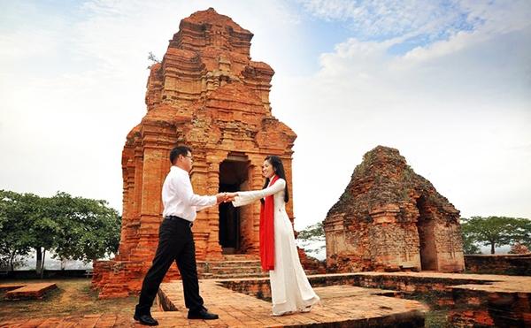 Checkin tháp chàm Poshanư Phan Thiết