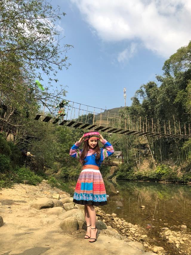 Cây cầu dây ở Lao Chải – Tả Van