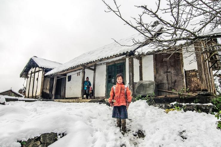 Tuyết Sapa - tưởng chừng như ở nước ngoài bạn mới có thể cảm nhận được