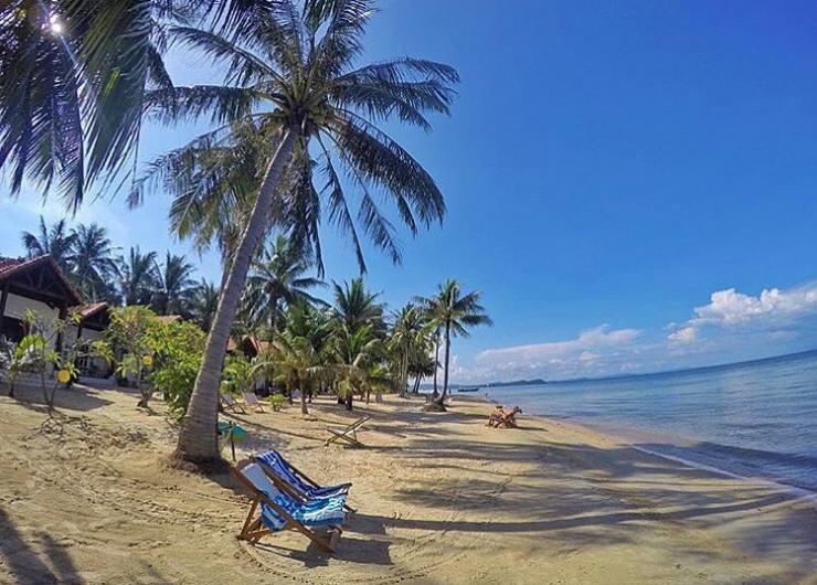 Không gian ở bãi Dài Phú Quốc trong lành, quyến rũ bởi hương biển và hương rừng