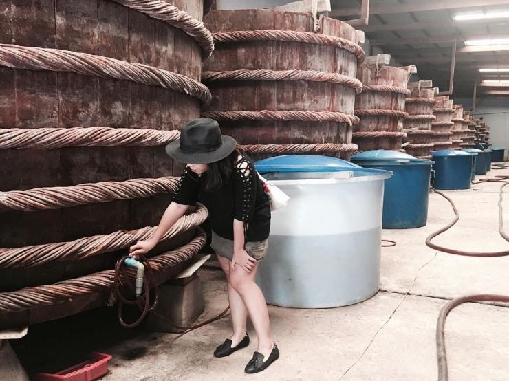 Nhà thùng sản xuất nước mắm ở Phú Quốc