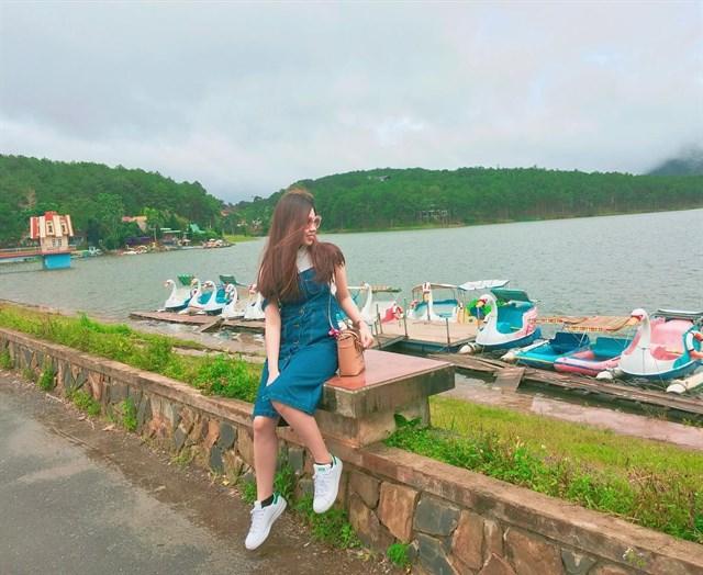 Các bạn có thể tham gia đạp vịt trên Hồ Tuyền Lâm Đà Lạt