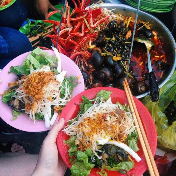 Gỏi ốc bươu Đà Nẵng