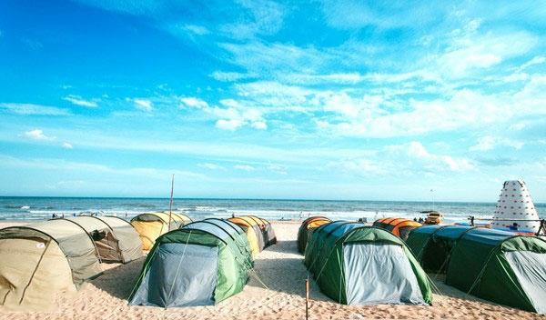 Du lịch ngủ lều tại Coco Beach Camp Bình Thuận