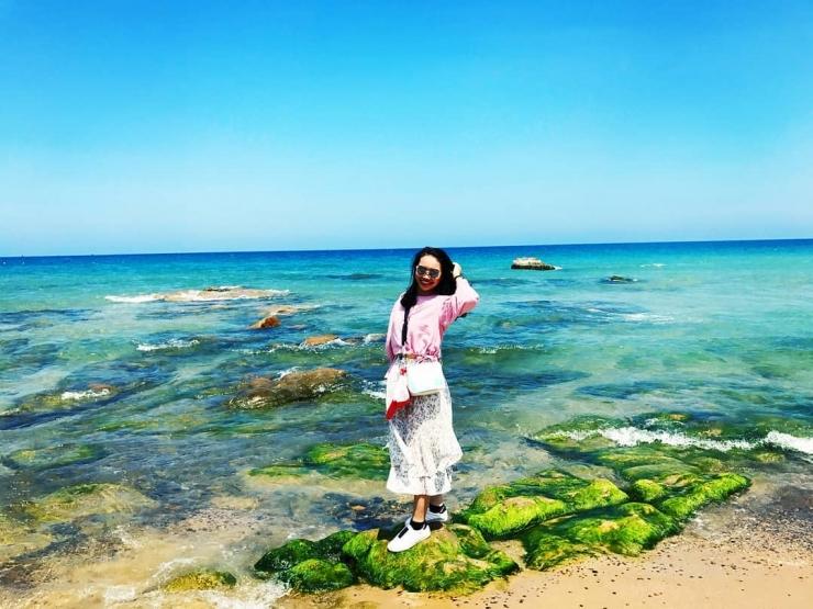 Checkin tại biển Cổ Thạch Phan Thiết