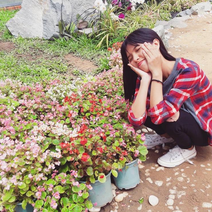 Tham quan vườn hoa