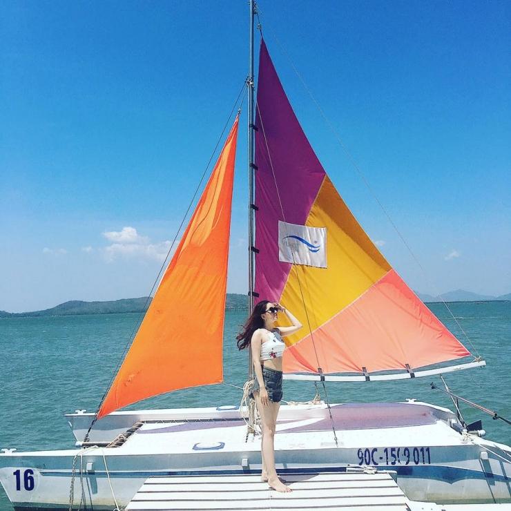Checkin tại bến du thuyền Marina