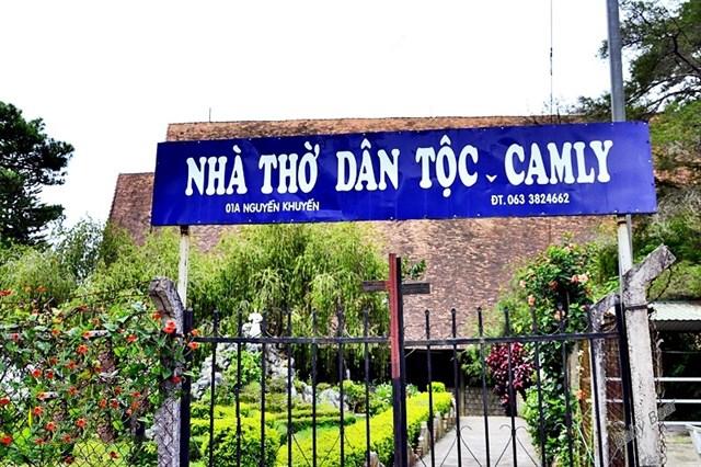 Nhà thờ dân tộc Cam Ly Đà Lạt