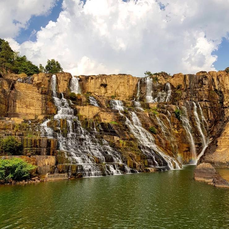 Thác Pongour - một trong những dòng thác tuyệt đẹp ở Đà Lạt được nhiều người muốn chiêm ngưỡng