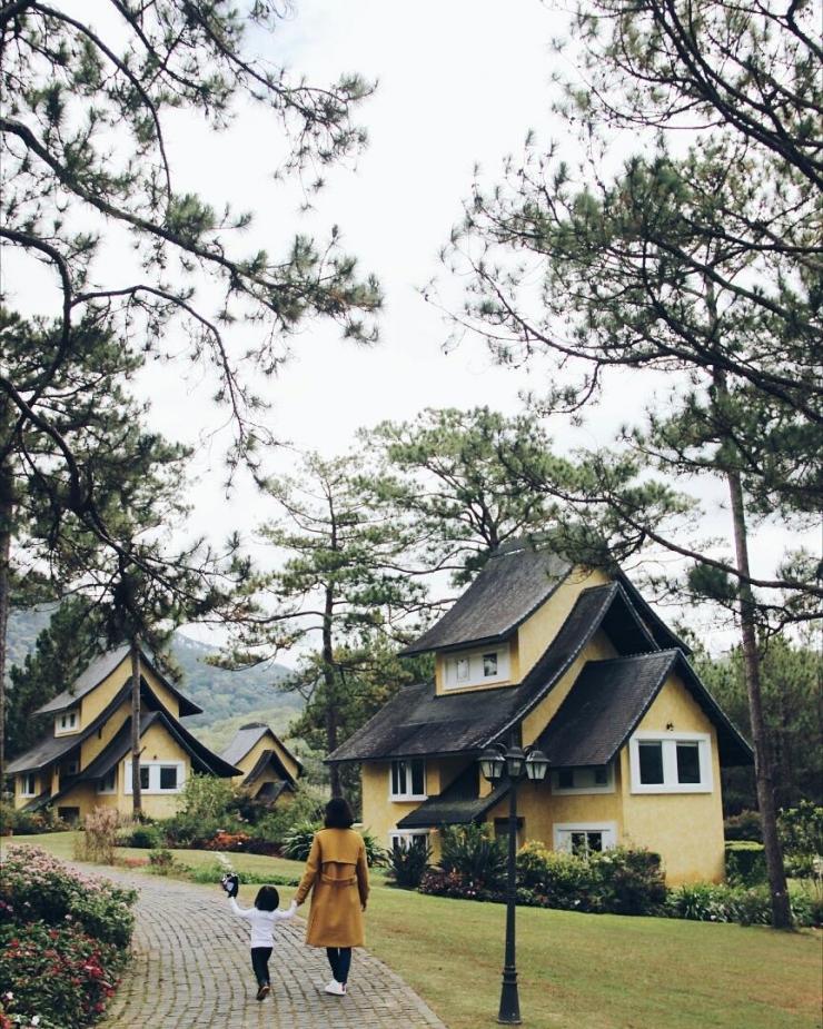 Thư giãn và cảm nhận sự bình yên trong Bình An Village Đà Lạt