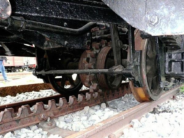 Cận cảnh đường sắt răng cưa còn sót lại tại nhà ga Đà Lạt