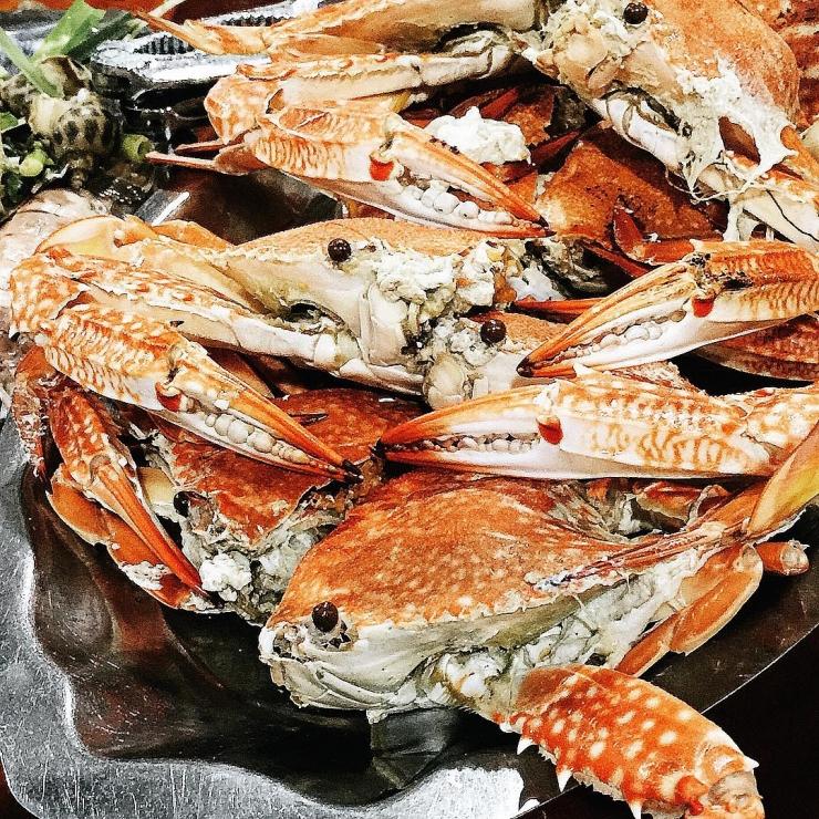 Ghẹ - hải sản ngon Phú Quốc