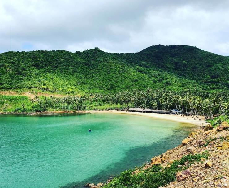 Bãi cây mến đảo Nam Du