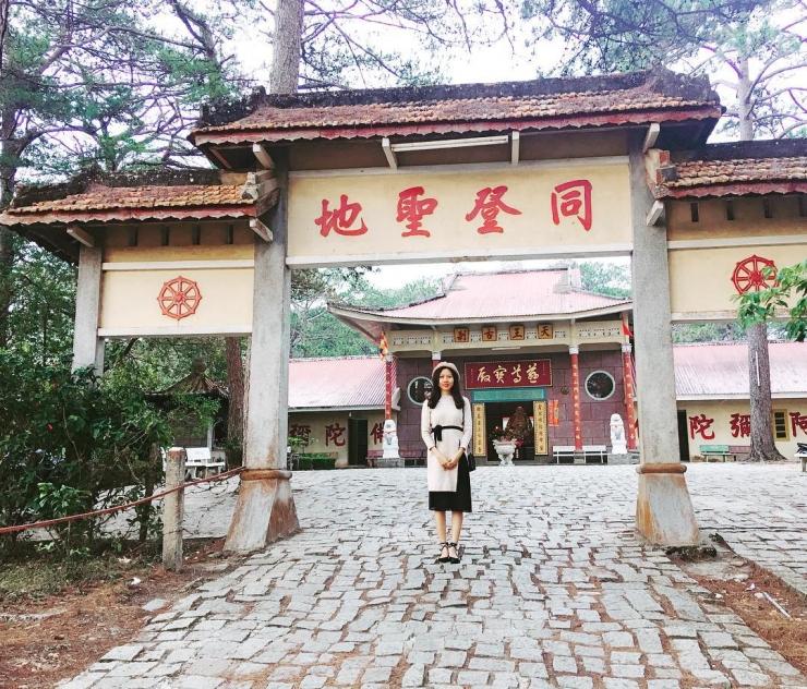 Chùa Thiên Vương Cổ Sát Đà Lạt hay còn gọi là chùa Tàu