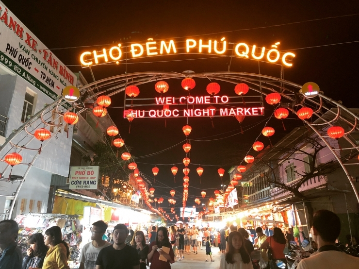 Thiên đường ẩm thực - Chợ đêm Phú Quốc