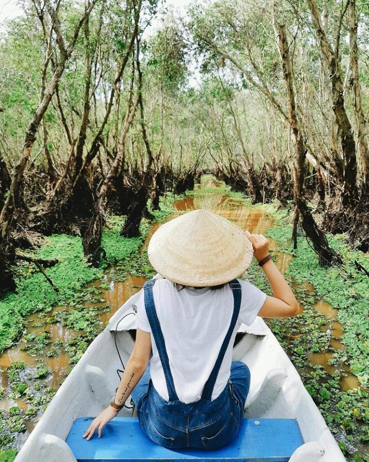 Tour du lịch Rừng Tràm Trà Sư Đảo Bà Lụa 2 ngày 2 đêm