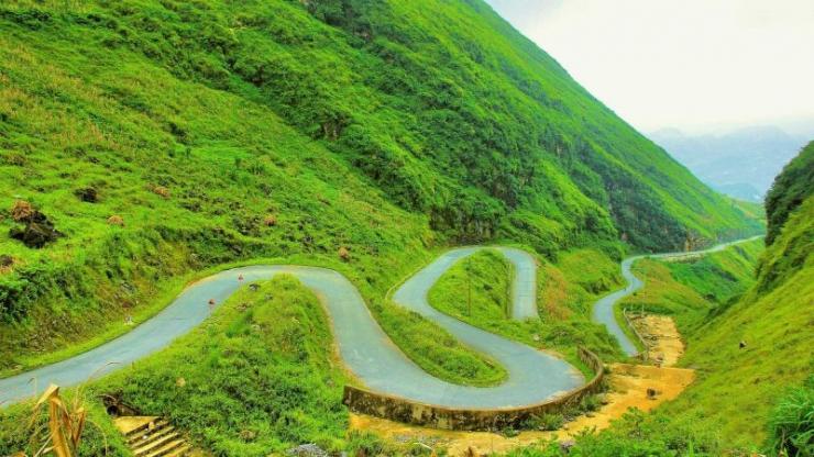 Đèo Bắc Sum Hà Giang