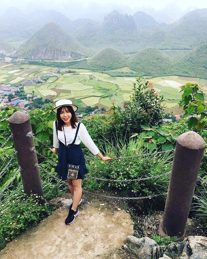 Núi đôi Cô tiên Hà Giang checkin