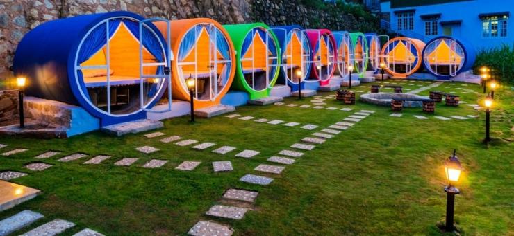 Nhà nghỉ ống cống gió biển Vũng Tàu