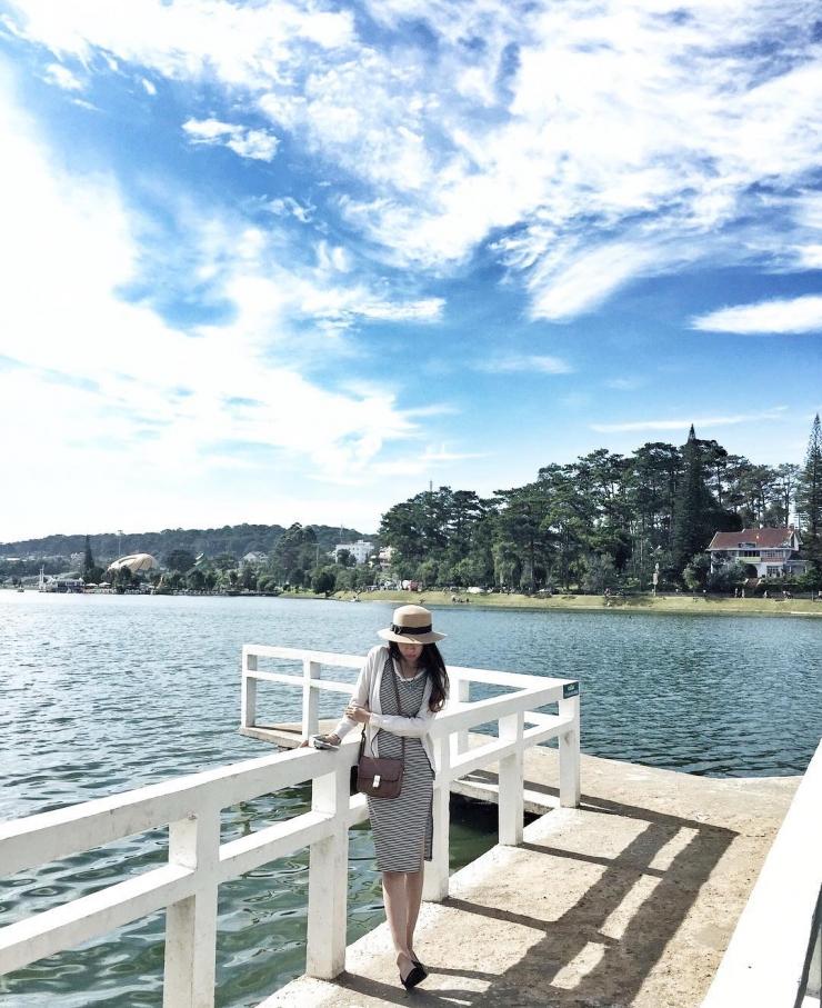 Checkin tại Hồ Xuân Hương Đà Lạt