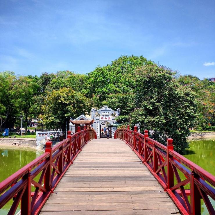 Cầu Thê Húc Hà Nội
