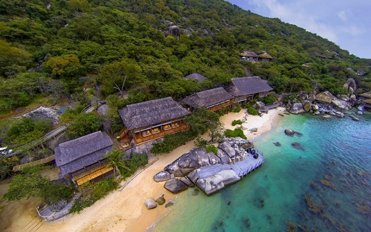 Khu nghỉ dưỡng Six Senses ở Vịnh Ninh Vân Nha Trang