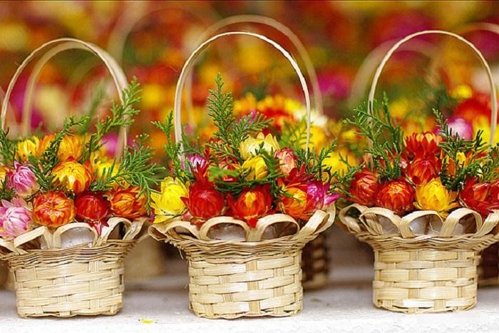 Hoa sấy khô Đà Lạt