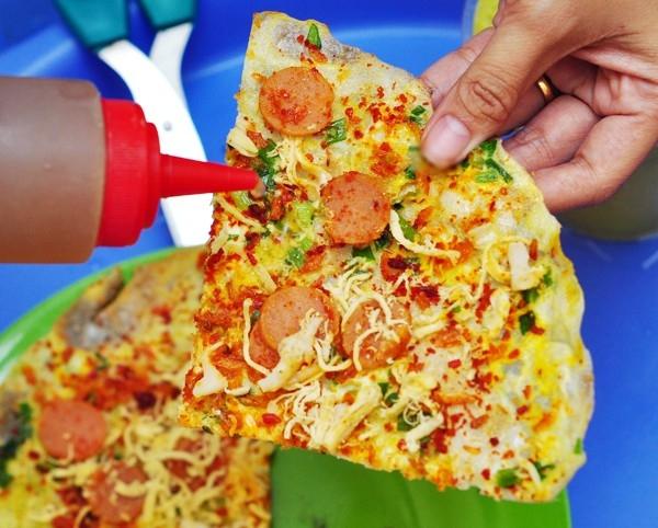 Món bánh tráng nướng hay còn được gọi là Pizza Đà Lạt