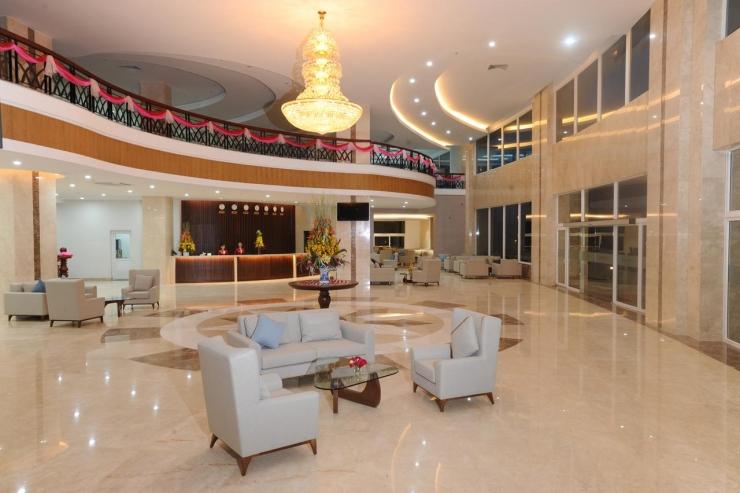 Sảnh khách sạn Mekong Mỹ Tho