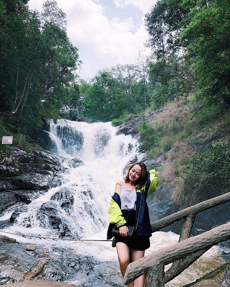 Checkin tại thác Datanla Đà Lạt