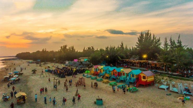 Khu vui chơi nghỉ dưỡng Coco Beach Camp Lagi - điểm đến lý tưởng của Phan Thiết